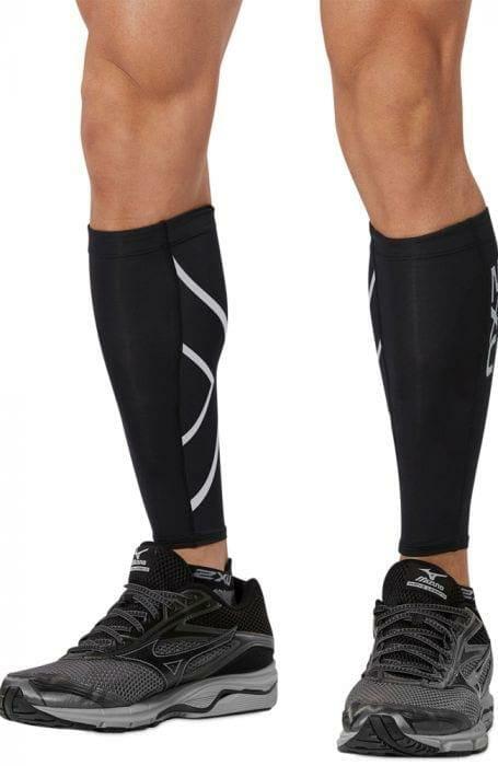 Fitness Mania – 2Xu Compression Calf Guard Black