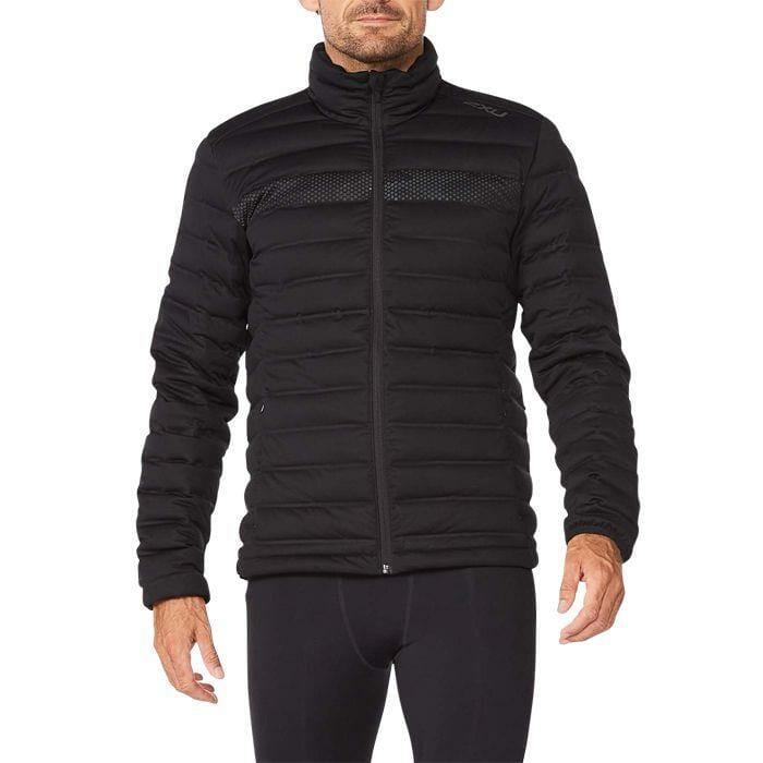 Fitness Mania – 2Xu Ignition Insulation Jacket Mens Black Black Reflective