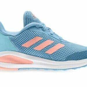 Fitness Mania - Adidas Fortarun (Gs) Kids Hazy Blue Glow Pink Sky