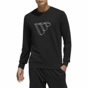 Fitness Mania - AdidasFuture Icon Crew Sweatshirt Mens Black